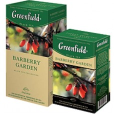 Чай Гринфилд Барбарис Barberry Garden 100г