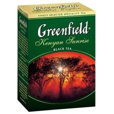 Чай Гринфилд Kenyan Sunrise Кения 100г