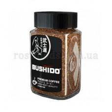 Кофе Bushido Бушидо Блек Катана растворимый 100г стекло