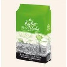 Кава зі Львова з часточками зеленої кави 240г мелена