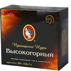 Чай Принцесса Нури 100 пакет высокогорный