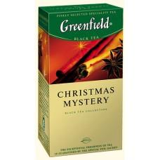 Чай Гринфилд Christmas Mystery Пряности 25 пакетов