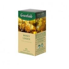 Чай Greenfield Гринфилд Honey Linden Липа 25 сашетов