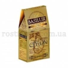 Чай черный Базилур Остров Золотой 100г