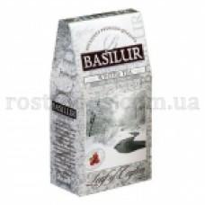 Чай Базилур Зимний черный с клюквой 100г картон
