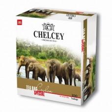 "Чай ""Chelcey"" Челси черный Цейлон Спешл 100 пакет"