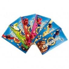 Шоколад Studentska Черный изюм арахис желе 180г