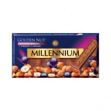 Шоколад Миленниум Голд орех изюм молочный 100г