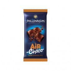Шоколад Миленниум пористый чёрный 80г