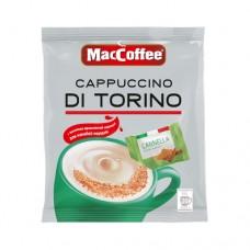 Кофе MacCoffee Маккофе растворимый Cappuccino di Torino Корица 3в1 20 пакетов