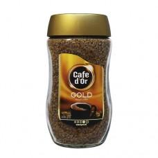 Кофе Cafe d`Or ДОР Gold растворимый 200г стекло банка