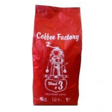 Кофе Coffee Factory Бленд №3 80/20 1кг зерно