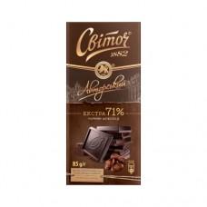 Шоколад Свиточ Авторский чёрный Экстра 85г