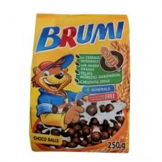 Хлопья Бруми шоколадные 250г сухой завтрак