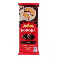 Шоколад Корона черный КОФЕ 85гр