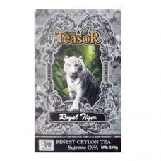 Чай TEASOR чёрный Королевский Тигр Supreme OPA 250г