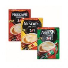 Кофе Nescafe Нескафе растворимый 3в1 Экстра стронг 50+2 стиков