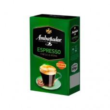 Кофе Ambassador Амбассадор Espresso молотый 225г