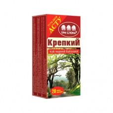 Чай черный Три слона Крепкий 20 пакетов ДСТУ