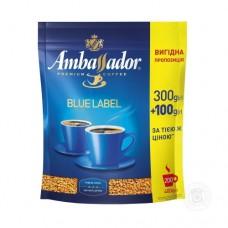 Кофе Ambassador Амбассадор Blue Label растворимый 400г пакет
