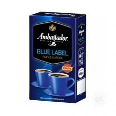Кофе Ambassador Амбассадор Blue Label молотый 450г