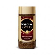 Кофе Nescafe Нескафе растворимый Голд 190г стекло