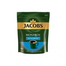 Кофе растворимый Якобс Монарх Без Кофеина 60г пакет