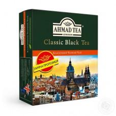 Чай Ahmad Ахмад черный Классический 100 пакетов
