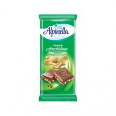 Шоколад Alpinella молочный Арахис 90г