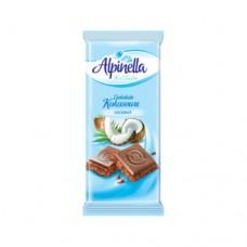 Шоколад Alpinella молочный Кокос 90г