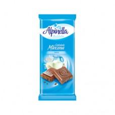 Шоколад Alpinella Молочный 90г