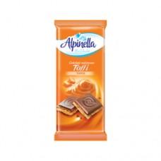 Шоколад Alpinella молочный Тоффи 90г