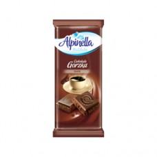 Шоколад Alpinella черный Dark 90г