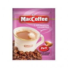 Кофе растворимый MacCoffee Маккофе Амаретто 3в1 20 пакет