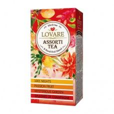 Чай Ловаре LOVARE Ассорти черный 24 пакет