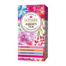 Чай Ловаре LOVARE Ассорти цветочный 24 пакет