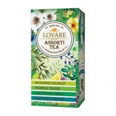 Чай Ловаре LOVARE Ассорти зелёный 24 пакет