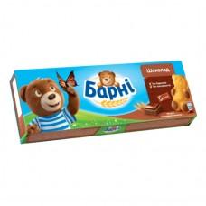 Бисквит Барни Шоколадный 30г
