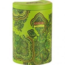 Чай Базилур Зеленая Долина Восточная коллекция 100г жесть банка