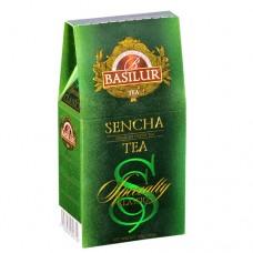 Чай Базилур зеленый Сенча 100г