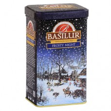 Чай Basilur Базилур Подарочный  Морозная ночь 85г жесть банка