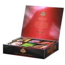 Чай Basilur Базилур Подарочный набор пакетированный Избранная классика 60 пакетов