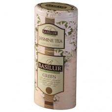 Чай Basilur Базилур 2в1 Зеленый жасмин 125г жесть банка