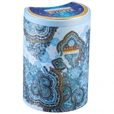 Чай Базилур Морозный день Восточная коллекция 100г жесть банка