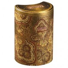 Чай Базилур Золотой Месяц Восточная коллекция 100г жесть банка
