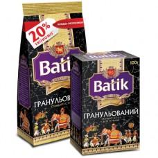 Чай Batik Батик черный гранулированный СТС 250г пакет