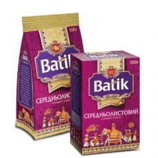 Чай Batik Батик черный среднелистовой FBOP 100г пакет