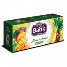 Чай Batik Батик зеленый манго ананас 20 пакетов