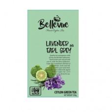 Чай Bellivue зеленый Бергамот лаванда 100г