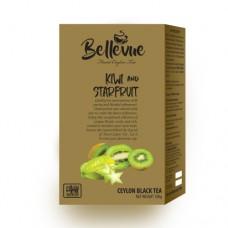 Чай Bellivue черный Киви карамбул 100г